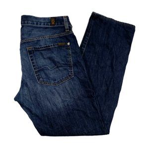 7 For All Mankind Women Size 34 Jeans Blue 02597